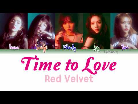 Red Velvet (레드벨벳) - Time To Love Lyrics [Color Coded/HAN/ROM/ENG]
