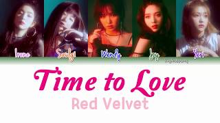 Red velvet (레드벨벳) - time to love lyrics [color coded/han/rom ...