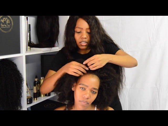 Hair Tutorial: Blend your leave-out - #HairTalkswithSisi from South Africa