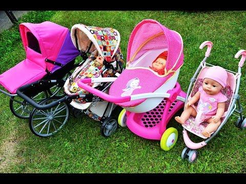 ✿  ВСЕ НАШИ КОЛЯСКИ и КУКЛЫ Dolls & Prams Беби Борн Baby Born Peppa Pig Беби Элайв Baby Alive Doll