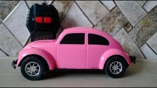 Video For Kids / Children - Cute Rc Racing Car Pink Colour 2015 [hd Video]