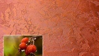 Декоративная ВЕНСКАЯ фреска мастер класс MARMORINO Венецианская штукатурка TRAVERTINO Урок 20
