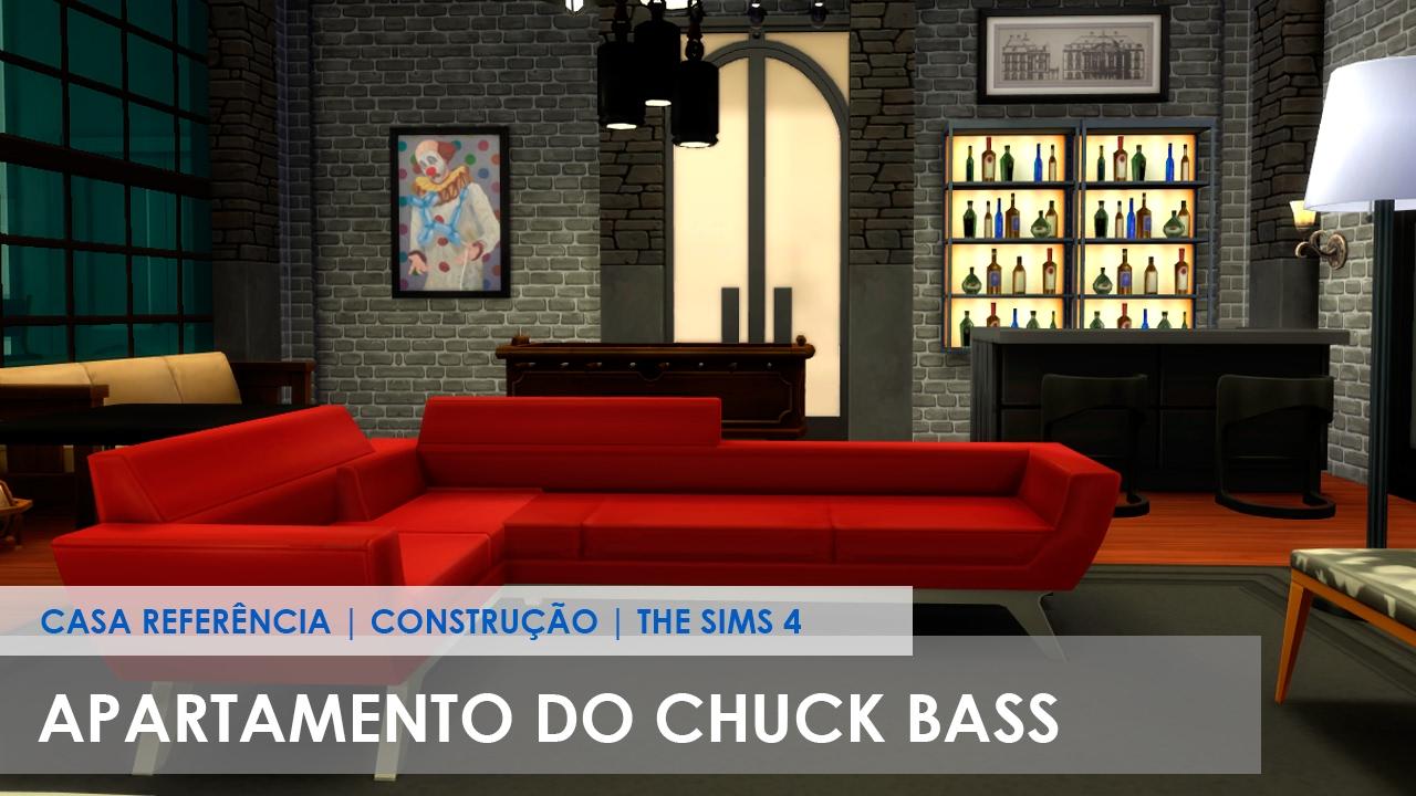 Apartamento Do Chuck Bass Gossip Girl Casa Referencia Construcao The Sims 4 Youtube