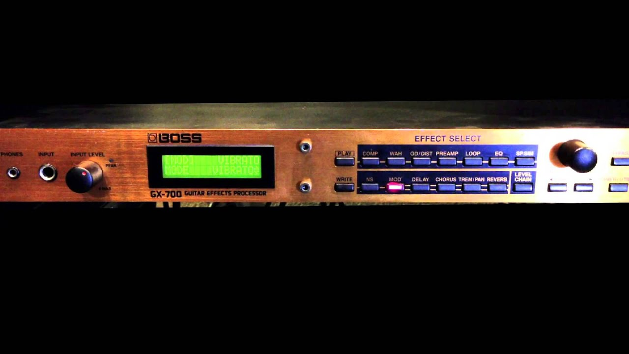 boss gx 700 guitar effects processor