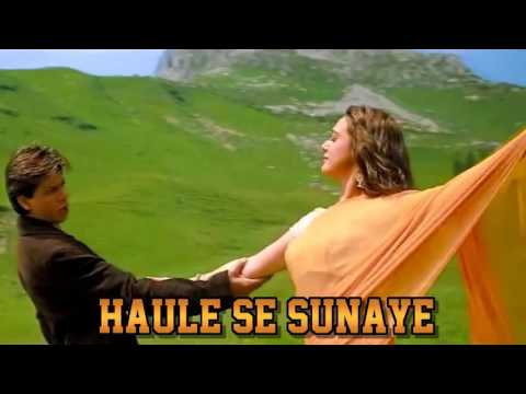 YEH HUM AA GAYE HAIN KAHAN -  VEER ZARA  - HQ VIDEO LYRICS KARAOKE