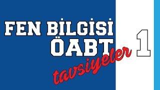 ÖABT FEN BİLGİSİ'NE GİRECEKLERE ÖNERİLER - 1.mp3