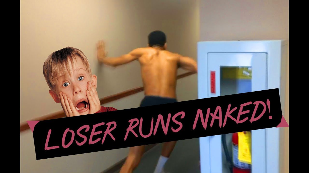Loser Runs In Naked