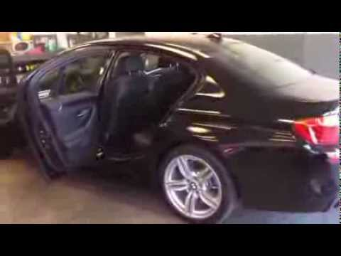BMW F10 How to install rear speaker by BAVSOUND 535i