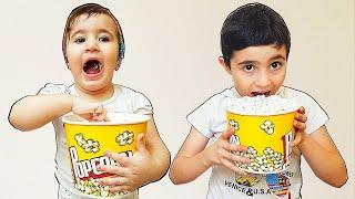 Celina and Hasouna Popcorn for Kids - سيلينا والبوشار