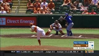 New Orleans vs Texas Baseball Highlights - Apr. 22