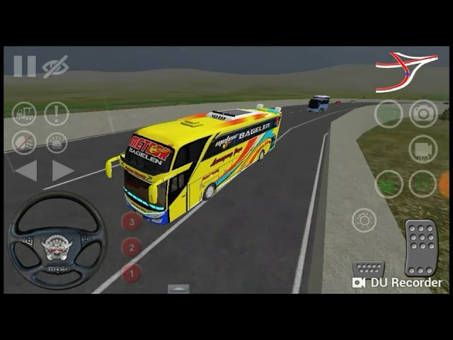 Review bussid livery luragung Jaya METEOR BAGELEN