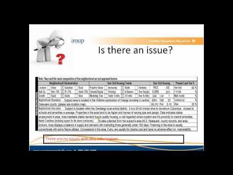 Understanding the URAR and Basic Appraisal Forms