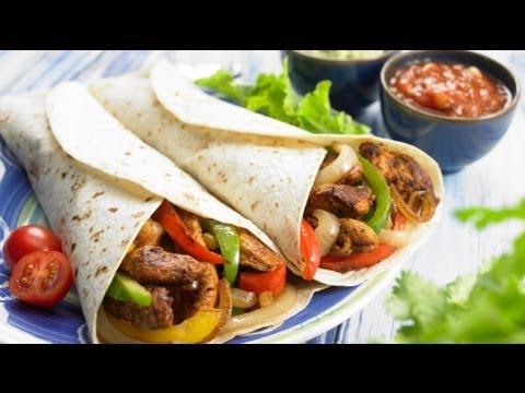 kuŘecÍ-fajitas-recept,-a-avokÁdovÉ-guacamole-recept,-zdravÉ-vaŘenÍ