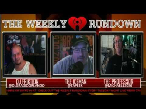 "The Weekly Rundown Radio Show   ""The Return Of The Show"" (Podcast)"