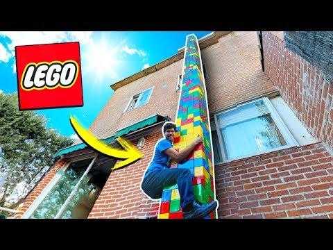 ¡CONSTRUIMOS LA TORRE DE LEGO MÁS ALTA DEL MUNDO! (+1.000 BLOQUES 😱) *EN LA VIDA REAL*
