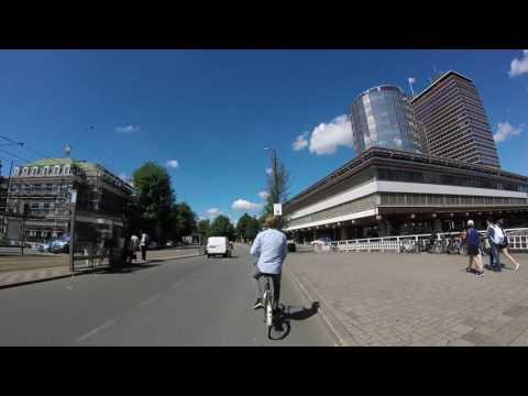 Biking In the West of Amsterdam
