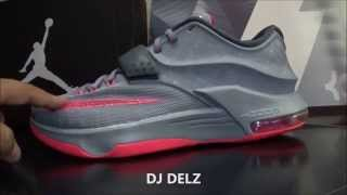 Nike Kd 7 Calm Before The Storm Grey Hyper Punch Sneaker Review With Dj Delz