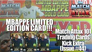 MATCH ATTAX 101 2019//20 KYLIAN MBAPPE GOLDEN MOMENT CARD INCLUDING STICKER