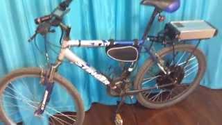 Электровелосипед своими руками 1000 ватт(Сборка заняла 3-4 часа, подключение прошло без проблем. Качество сборки электронабора хорошее, производство..., 2015-06-14T19:38:53.000Z)