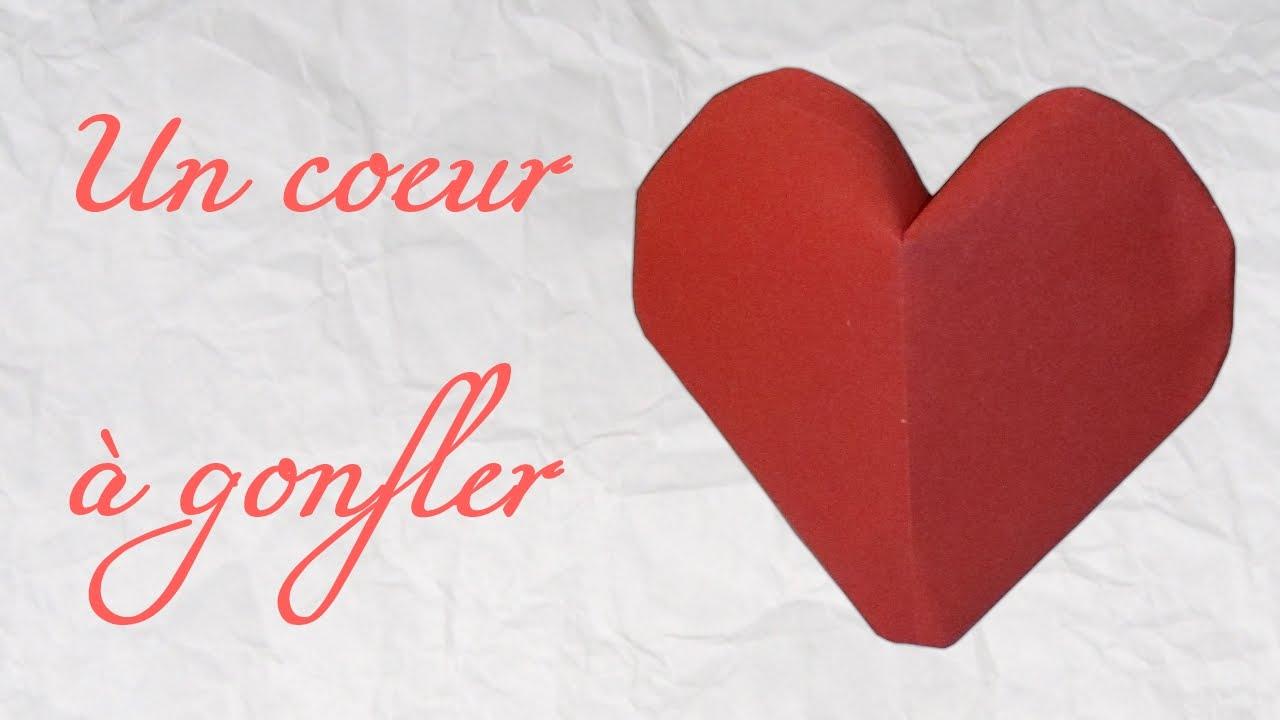 origami un coeur gonfler inflatable heart hd youtube. Black Bedroom Furniture Sets. Home Design Ideas