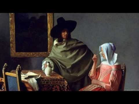 "Jan Vermeer'in ""Şarap Kadehi"" isimli Tablosu ( The Glass of Wine)"
