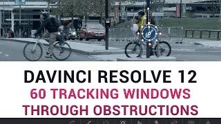 DaVinci Resolve 12 - 60 Tracking Windows Through Obstructions