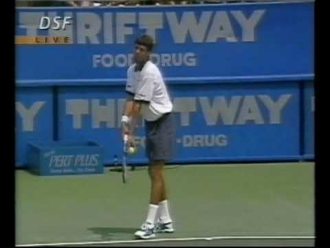 Cincinnati 1995 QF - Sampras vs Stich