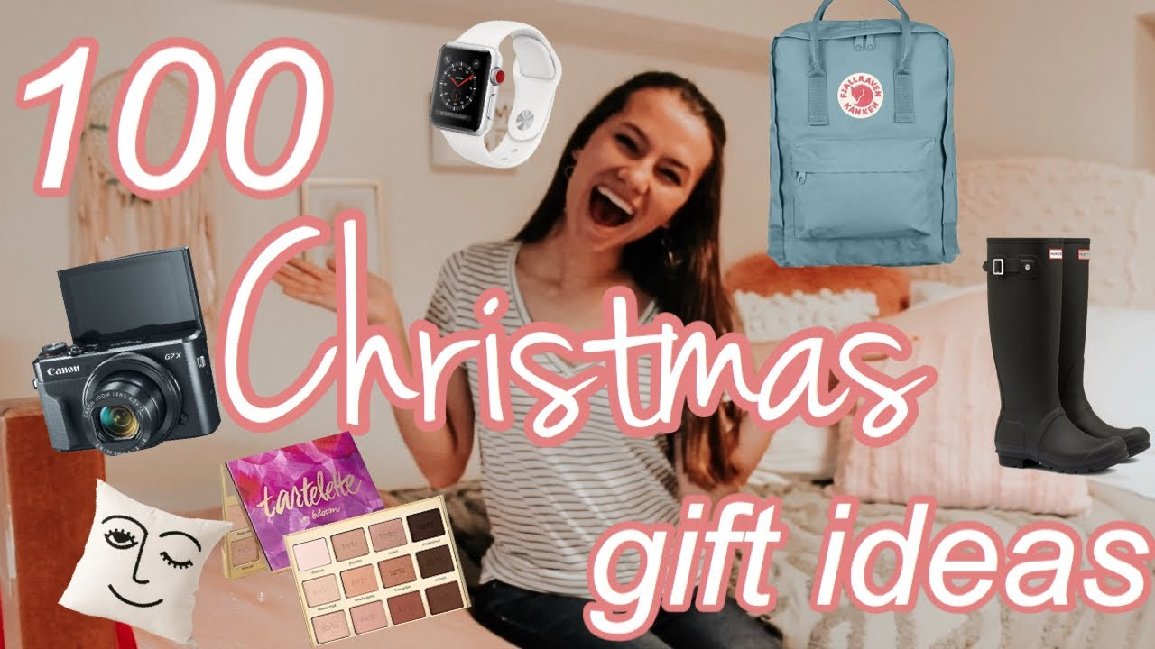 100 Christmas Gift Wishlist Ideas For Teen Girls 2019 Youtube