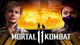 Mortal Kombat 11 - Cassie Cage vs Kitana (Very Hard)