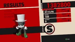 Sonic Forces Speedrun  - Guardian Rock: 1:12.96 [WR]