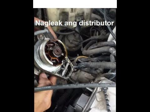 Mitsubishi Lancer itlog glxi4g92- Replace Distributor Oring (DIY)