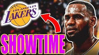 😎LEBRON JAMES, LOS ANGELES LAKERS Y EL SHOWTIME🏀