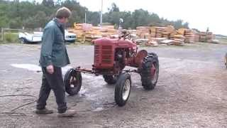 Farmall A, Wood Gas Tractor Project
