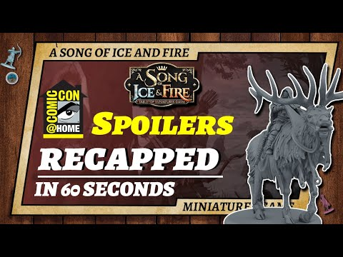 A Song of Ice and Fire COMIC CON Reveals Recapped in 60 Seconds