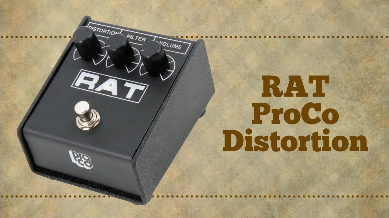 proco rat - turbo guitar  89