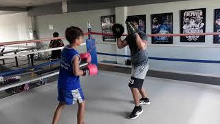 Sean Oneil Abello PadWork with el Tirador JR 2018