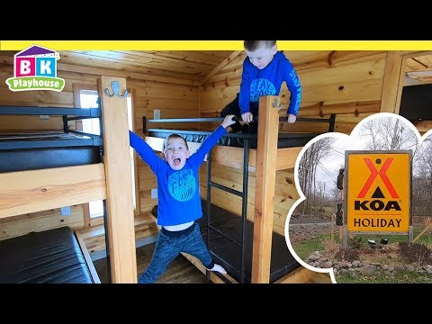 KOA Camping With Kids | BEST Cabin Camping!