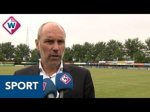 Scheveningen-trainer John Blok hoopt dat verlies tegen Spijkenisse 'eenmalig incident' is