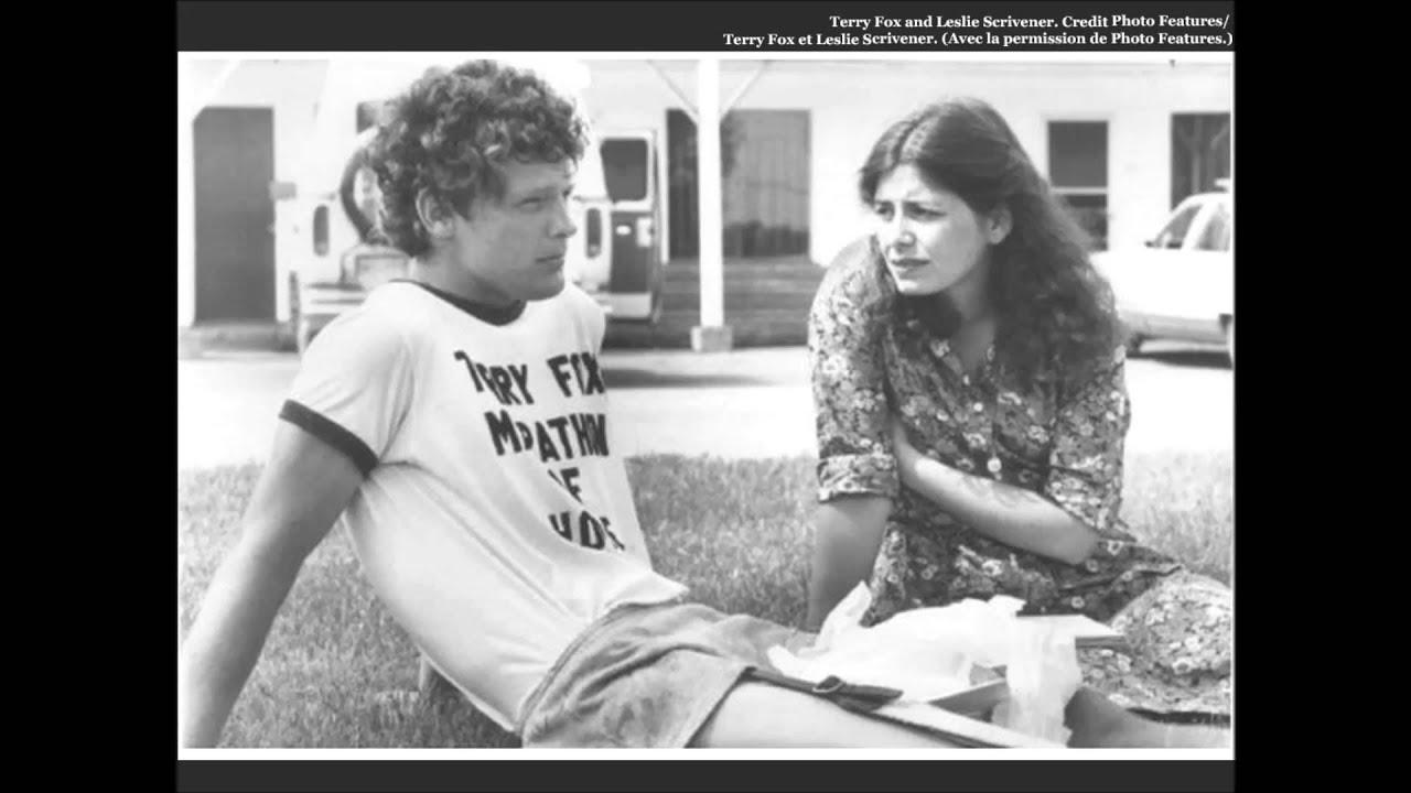 L'histoire de Terry Fox: entrevue avec Leslie Scrivener