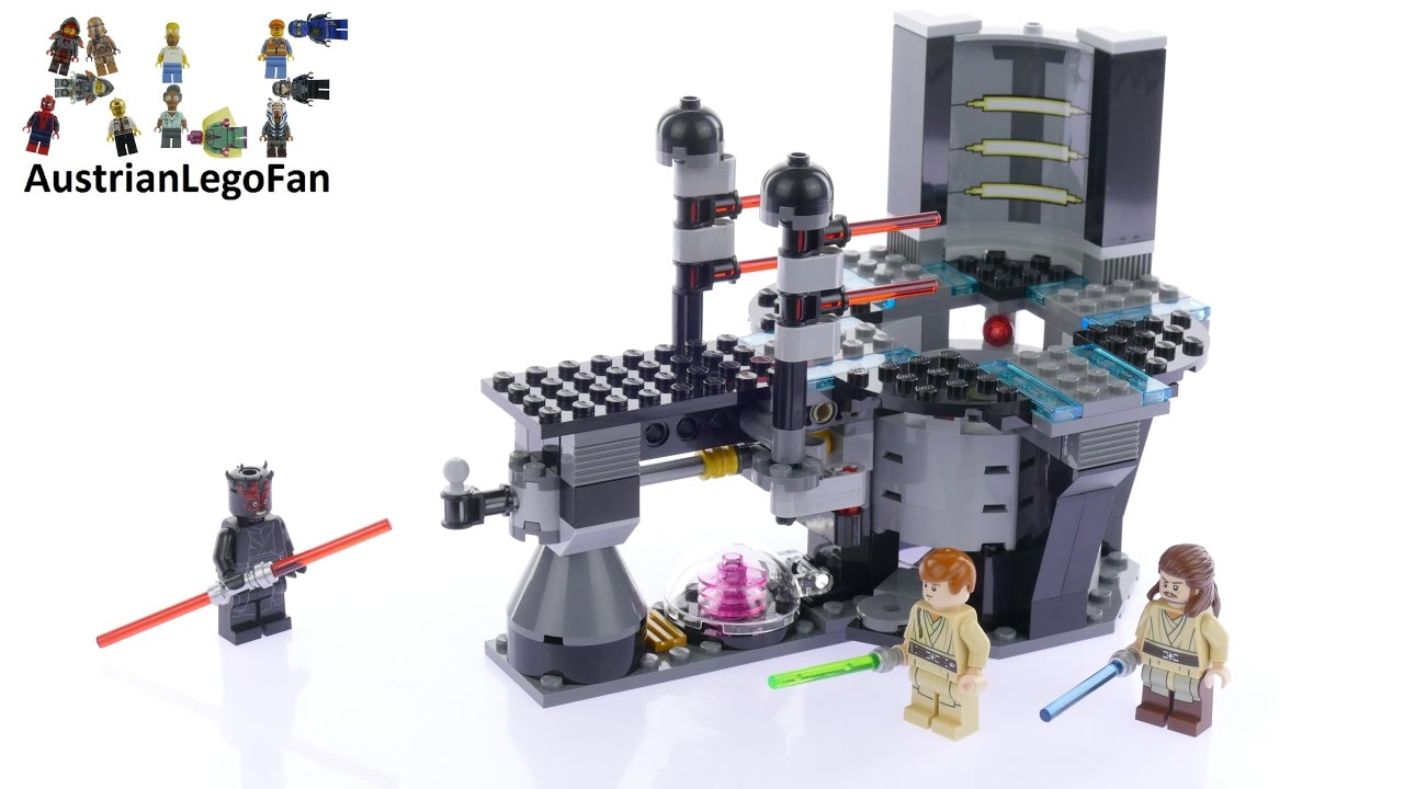 LEGO ® 75169 Star Wars Duel on Naboo