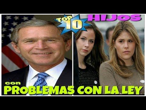TOP 10 HIJOS DE FAMOSOS CON PROBLEMAS CON LA LEY Parte 3