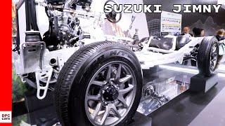 Suzuki Jimny Drivetrain & Chassis Walkaround