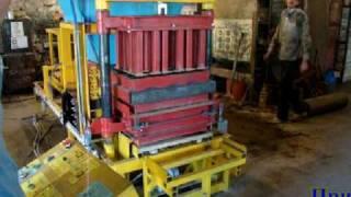 Автомат производства шлакоблоков от МСД(Оборудование для производства блоков от производителя msd.com.ua., 2009-10-30T15:56:42.000Z)