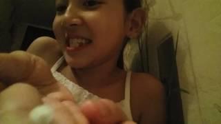 Вырвала себе зуб