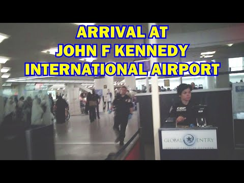 John F Kennedy International Airport (JFK) New York  Global Entry