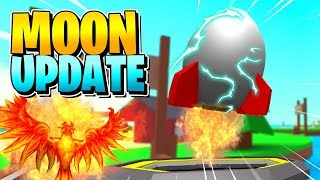 ROBLOX EGG FARM SIMULATOR: MOON UPDATE!! [New Update] (Rebirth)