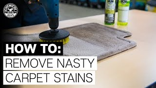 Best Way To Clęan Nasty Carpet Stains | Toyota 4Runner - Chemical Guys