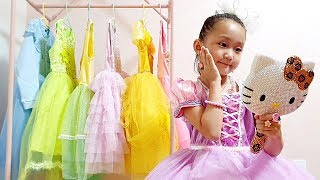 LoveStar Turn into a princess / Dress up & Make up / Toy review & pretend play