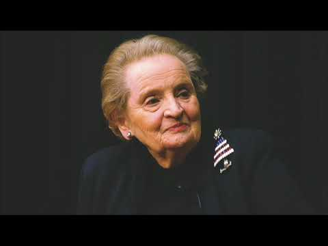 "Fmr. Sec. Of State Albright: State Dept. Needs A Secretary ""Quickly"" & Pompeo Is ""Well-Prepared"""