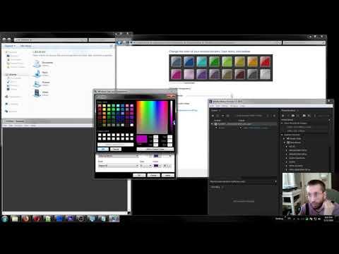 Создание тёмной темы для Windows 7